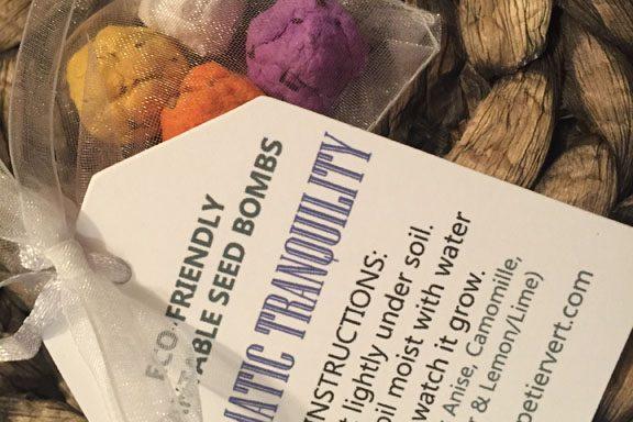 SBP0007 (Aromatic Tranquility Garden Seedbomb Gift)